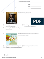 An environmental consultant _ Print - Quizizz