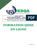 FORMATION HSE EN LIGNE NEW