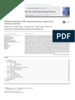 HydrogenproductionfromethanolreformingCatalystsand