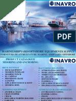 2020 Inavro - Presentation Marine Equipments