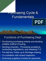 Procurement Process & Methods