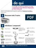 HP Officejet 7300-7400 series all-in-one - Manuale rapido ITA