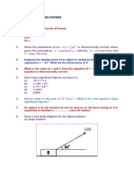 REVISION QUESTIONS PHY094