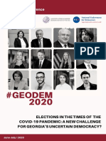 5th Annual Democracy Conference (#GEODEM)