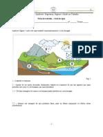 Ficha de trabalho_ciclo da água e poluição