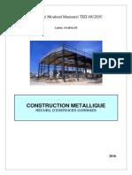 Recueil d'exercices corrigés en Construction Métallique