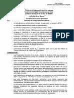 Arrêté Port de Masque Reims 2020-PA-001