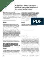 SILVA, Rubens Ribeiro. Fundamentos, desafios e alternativas para a salvaguarda e difusão