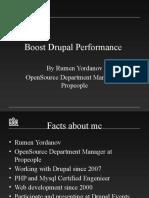 Boost Drupal performance by Rumen Yordanov
