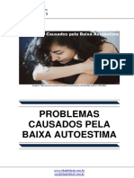 Problemas Causados Pela Baixa Autoestima