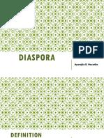 DISAPORA Lit Theory