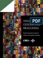 Mapa de indicacao de origem do Brasil - SEBRAE