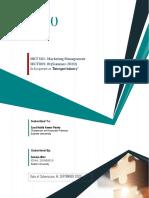 MKT-Industry Analysis