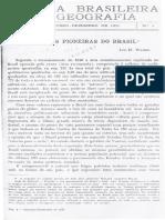 As Zonas Pioneiras No Brasil - Leo Waibel