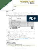 cotizacion maquinaria pesada y volquetas.docx