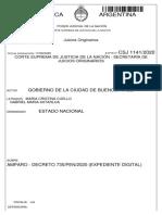 Gobierno porteño presentó reclamo ante la Corte Suprema por recorte de la coparticipación