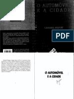 A Cidade e o Automóvel - Gabriel Dupuy