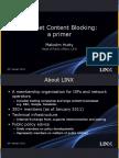 Website blocking LINX