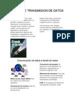 REDES DE TRANSMISION DE DATOS