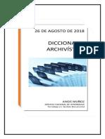 DICCIONARIO ARCHIVISTICO DE ALEXA FONTALVO