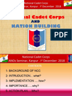 Role of NCC in NAtion Building 2020