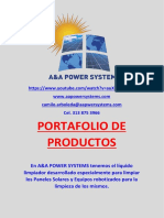 Brochure A&A Power Systems SAS