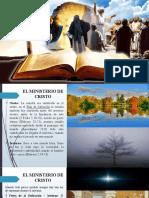 6. EL EXODO DE CRISTO PREFIGURADO - EL MINISTERIO DE CRISTO