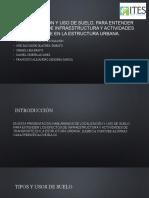 La localización y uso de suelo, para.pptx