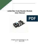 GM69 Barcode Reader Module User Manual