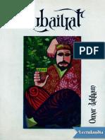 Rubaiyat - Omar Jayyam