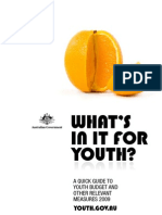 Quick Guide to Youth Budget