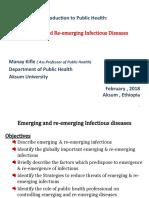 Emerging and Re emerging Diseases