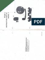 Fuji-Koh Automatic Level - User Manual