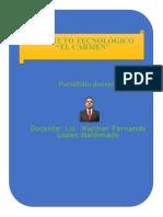 PrtafolioWalther Fernando López Maldonado 2019