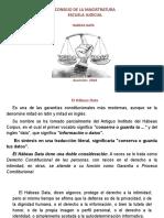 PPT sobre Habeas Data Paraguay