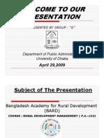 Presentation BARD