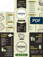 Partners - Carta Menu