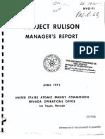 pne r-63 Rulison