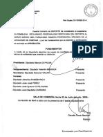 Soledad Alonso - Proyecto Sergio Fernández - 08/07/2020 - Despacho de Comisión