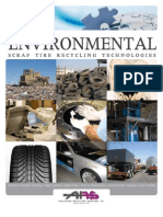 scrap tire recycling technologies