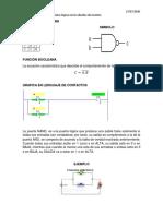 Taller Identificar las compuertas lógicas en los diseños de circuitos