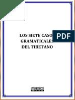LOS SIETE CASOS GRAMÁTICALES DEL TIBETANO