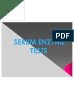 SERUM ENZYME TESTS