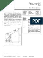 F-2001256 Actuador manual