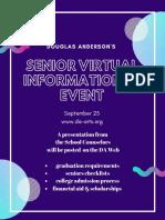 Draft 3 Senior Virtual Informational Event
