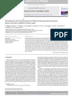 lithium-releasing silicate bioactive (Jones, Boccaccini, 2015)