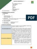 SESION DE APRENDIZAJE D.I - FRANK TRUJILLO