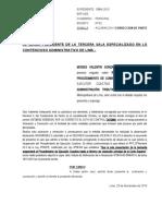 ACLARACION Y CORRECCION DE PARTE