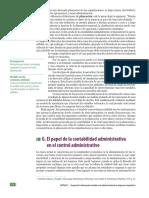 El papel de la Contabilidad Administrativa en el Control Administrativo