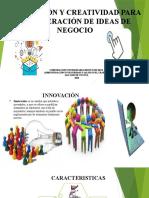INNOVACIÃ_N Y CREATIVIDAD PARA LA GENERACIÃ_N DE IDEAS DIAPOSITIVA